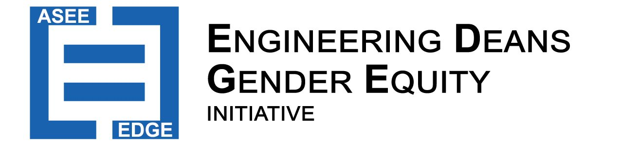 The Engineering Deans' Gender Equity (EDGE) Initiative